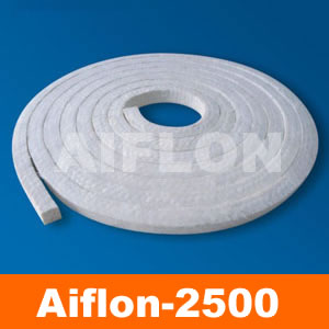 Arcylic fiber packing with silicone rubber core